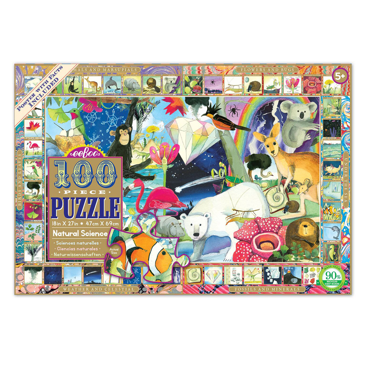 Natural Science Animals Jigsaw Puzzle
