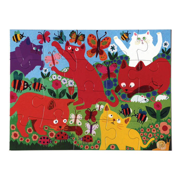 Crazy Kittens Cats Jigsaw Puzzle