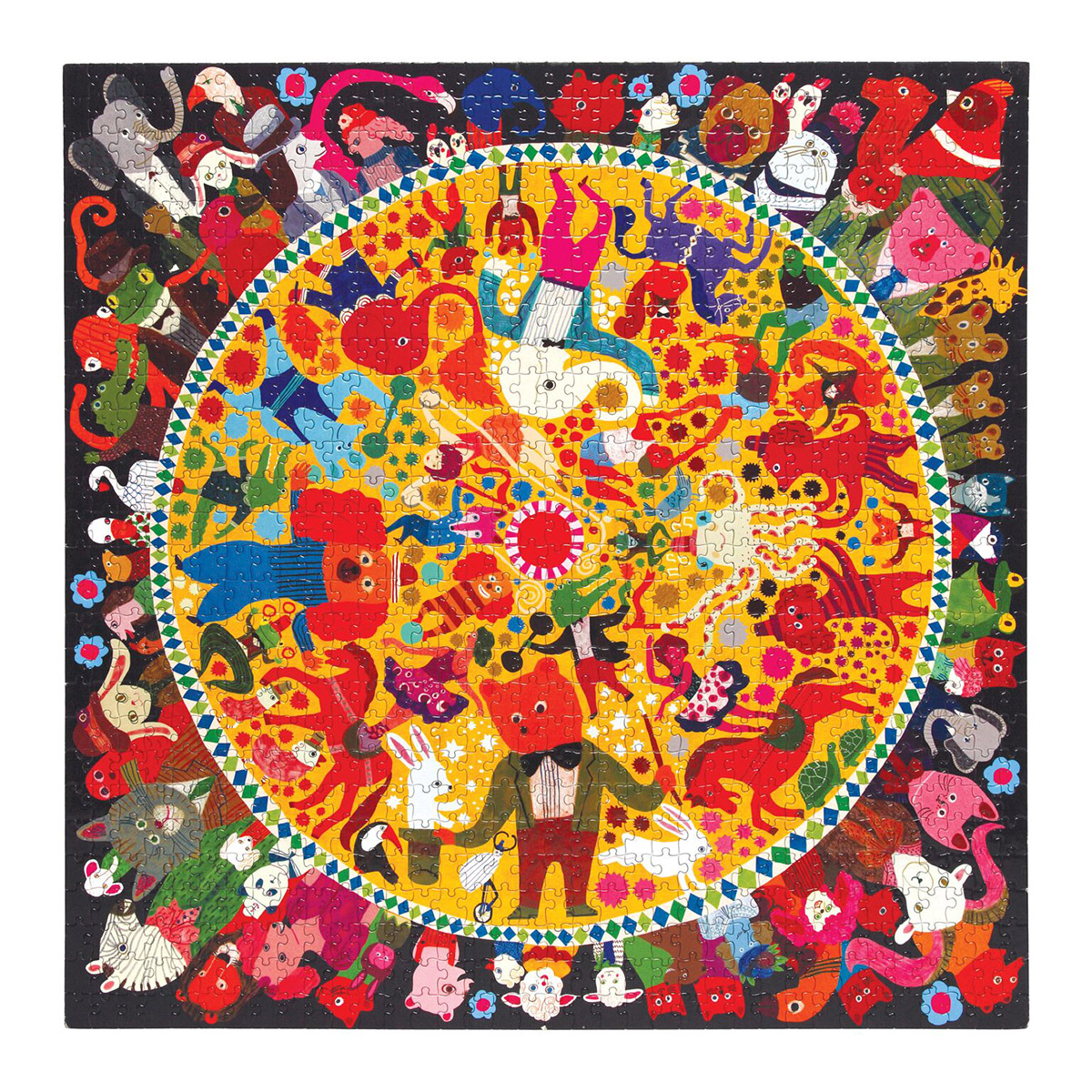 Circus Animals Jigsaw Puzzle