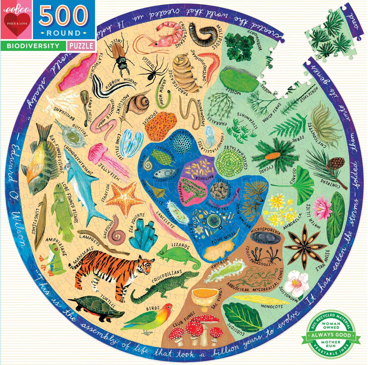 Biodiversity Animals Jigsaw Puzzle
