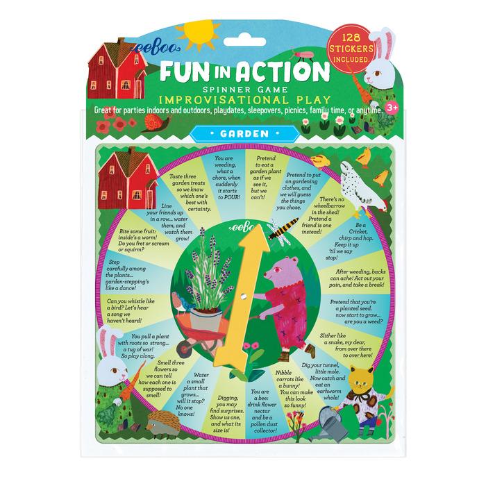 Garden Fun In Action Spinner Game
