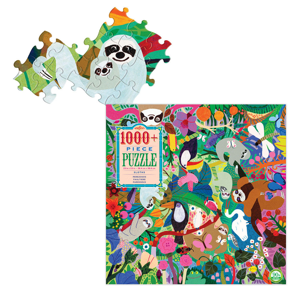 Sloths Animals Jigsaw Puzzle
