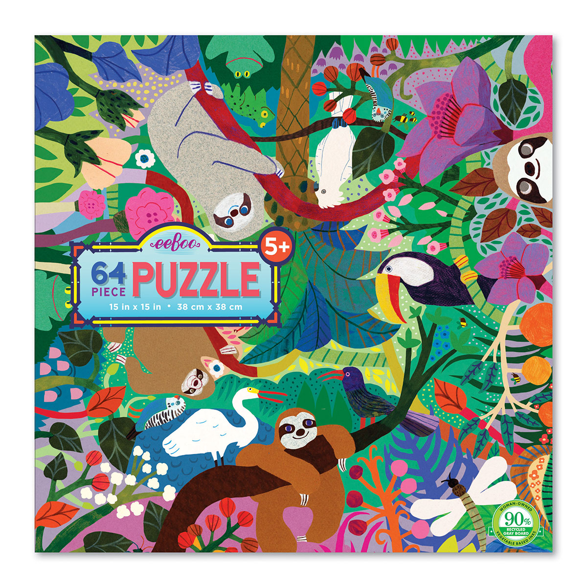 Sloths at Play Animals Jigsaw Puzzle