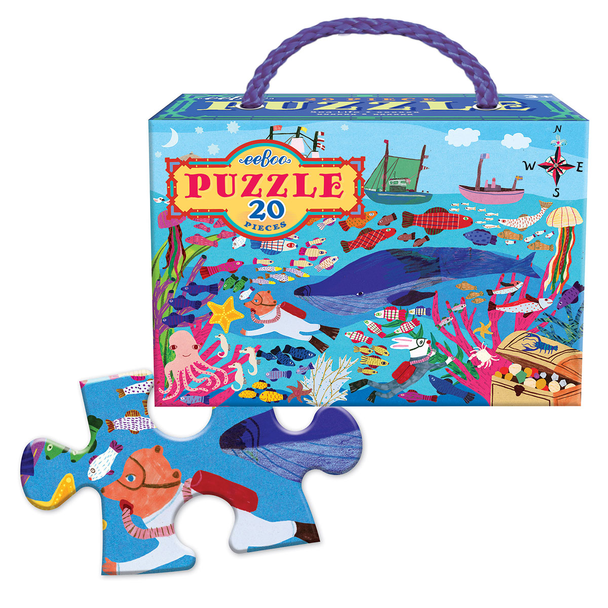 Sea Life Under The Sea Jigsaw Puzzle