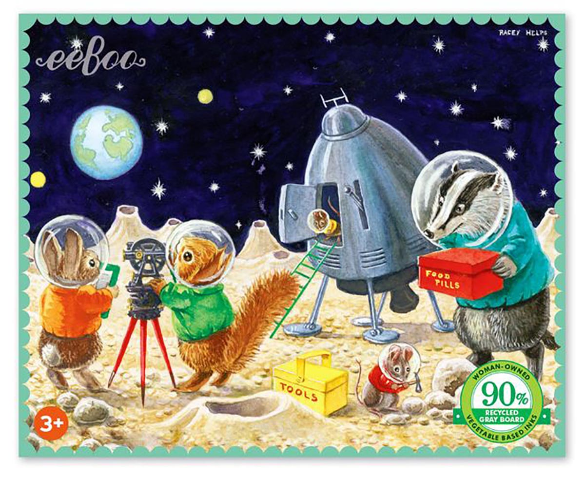 Miniature On the Moon Puzzle Graphics / Illustration Jigsaw Puzzle