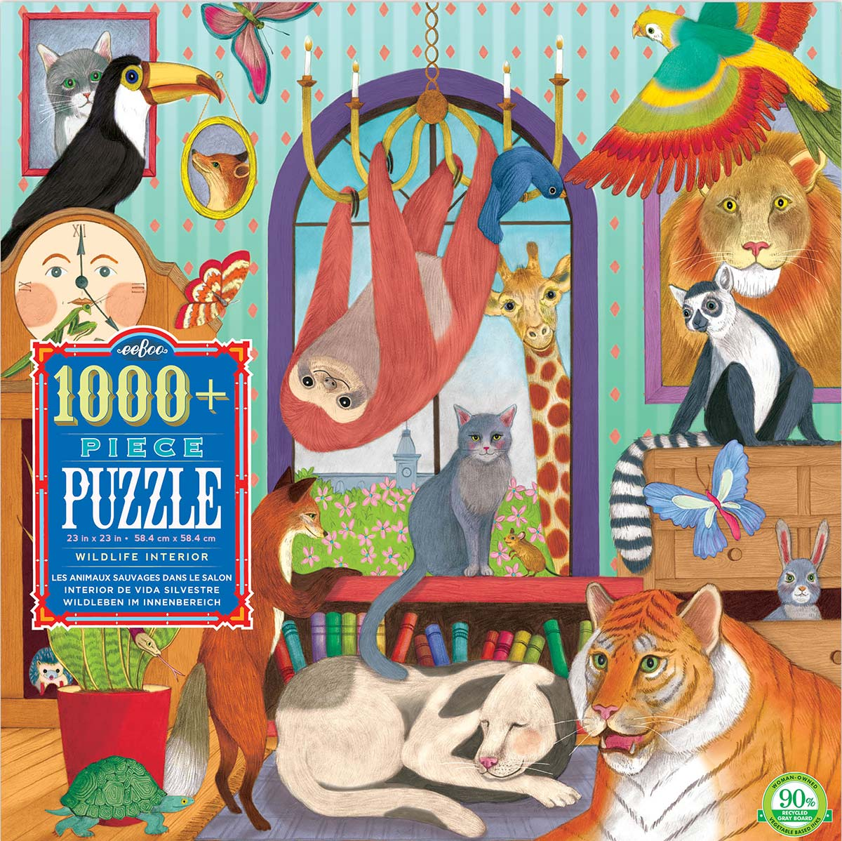 Wildlife Interior Animals Jigsaw Puzzle