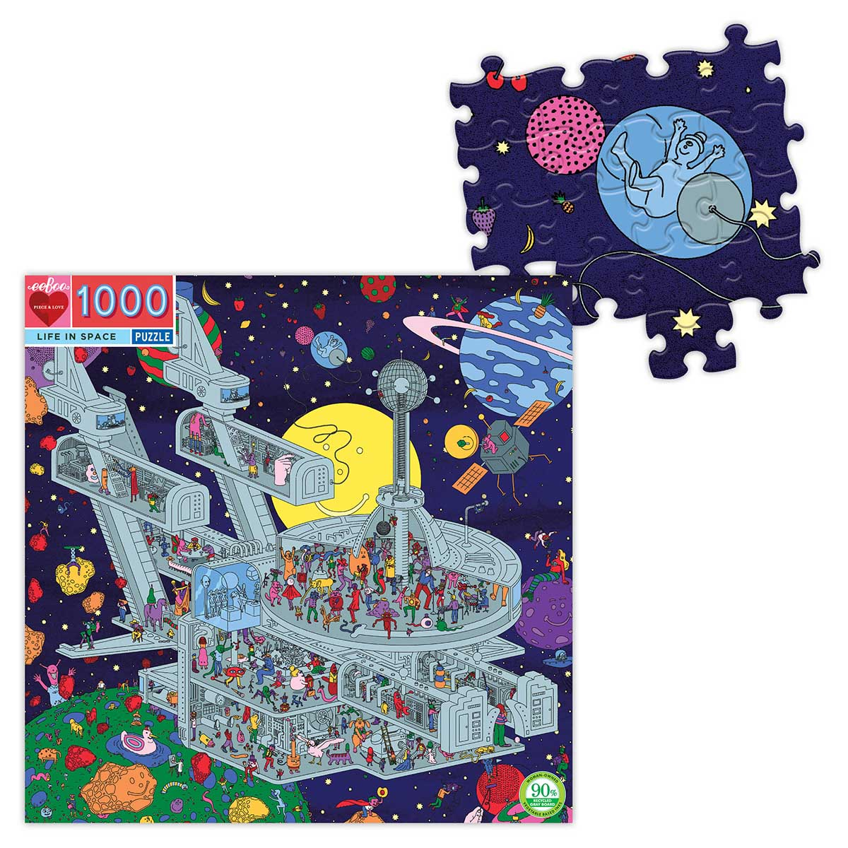 Life in Space Space Jigsaw Puzzle