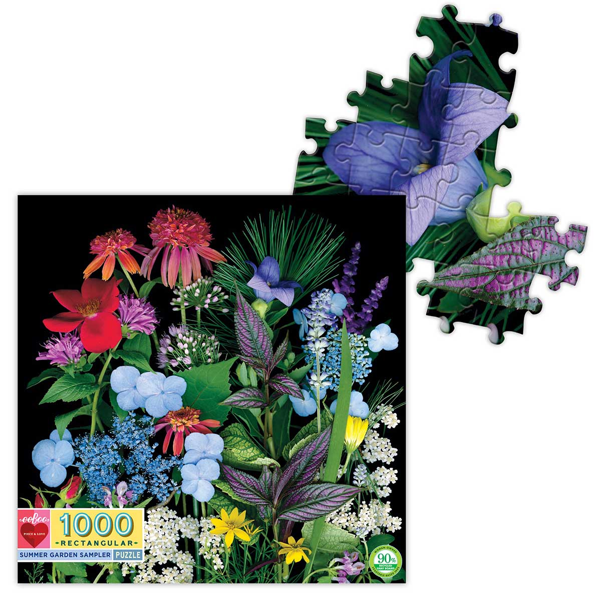 Summer Garden Sampler Summer Jigsaw Puzzle