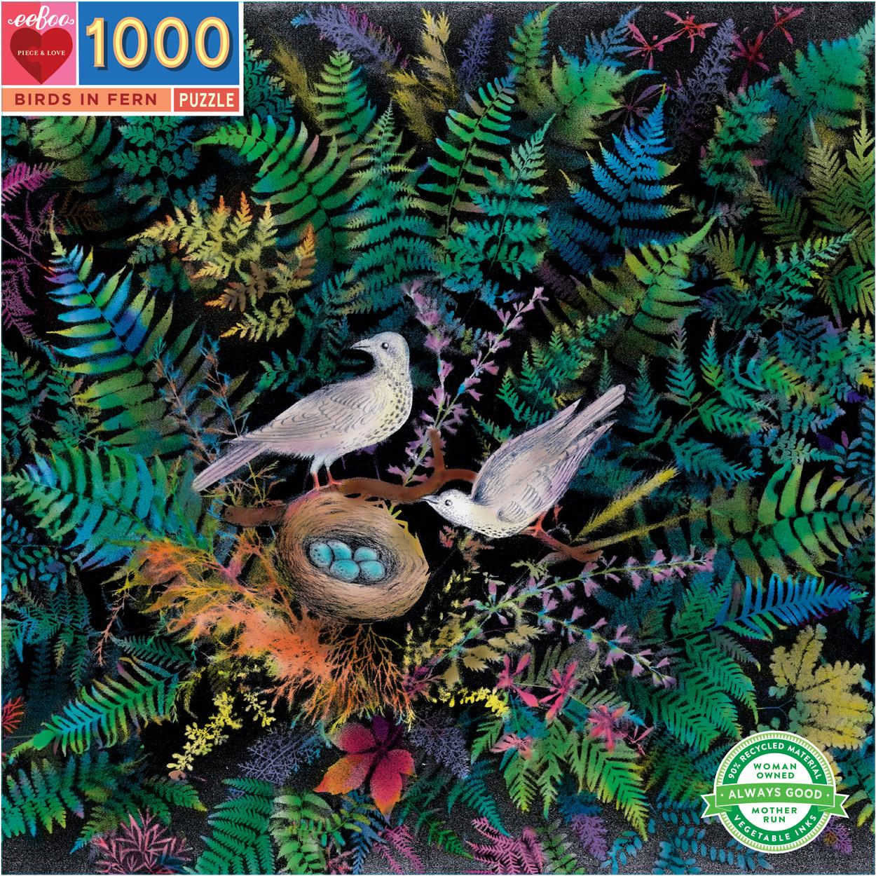 Birds & Ferns Birds Jigsaw Puzzle