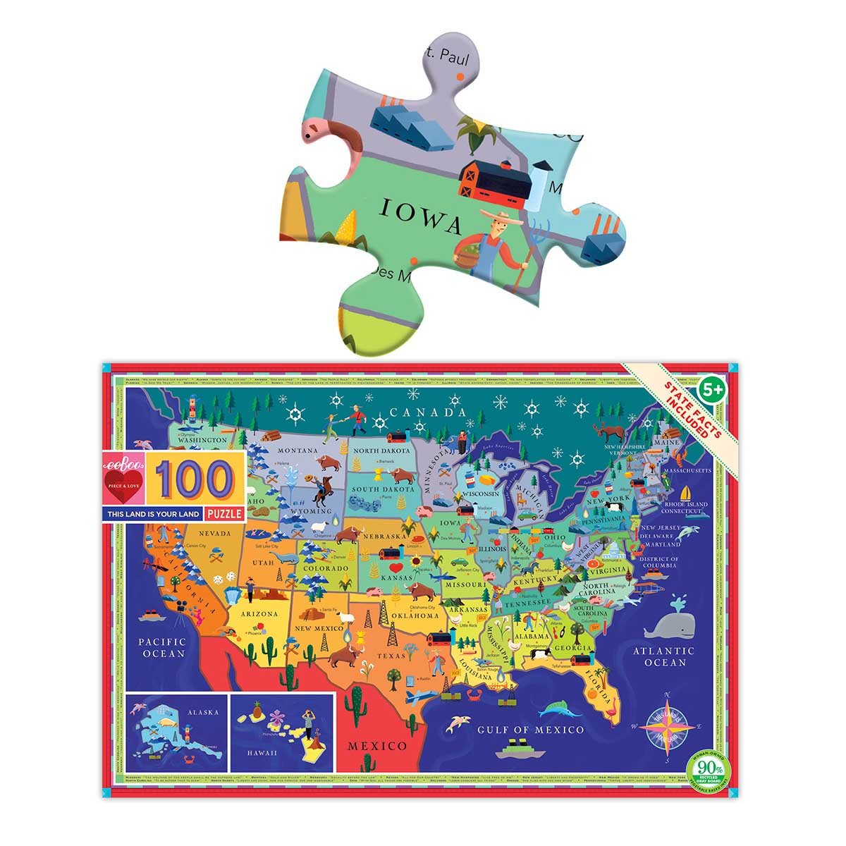 This Land is Your Land Maps / Geography Jigsaw Puzzle
