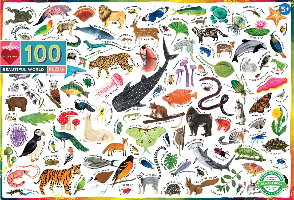 Beautiful World Animals Jigsaw Puzzle