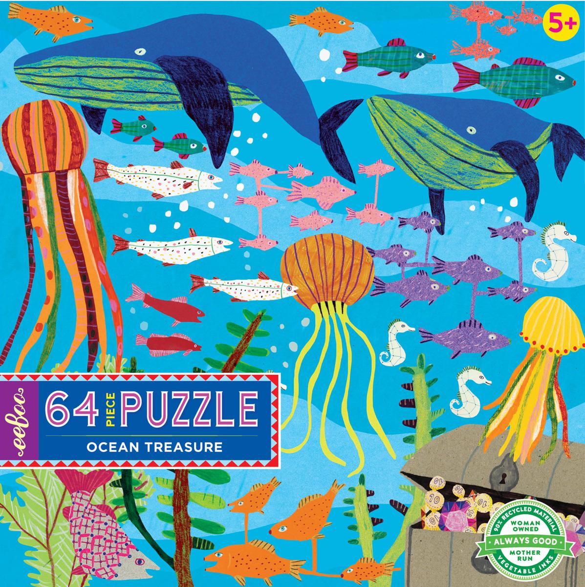 Ocean Treasure Under The Sea Jigsaw Puzzle