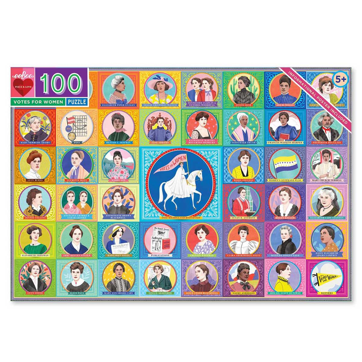 Votes for Women Inspirational Jigsaw Puzzle