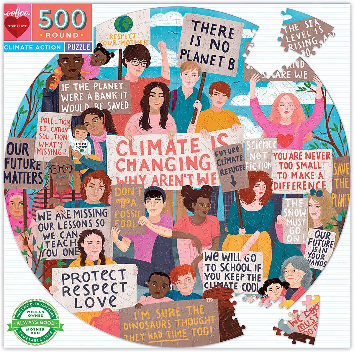 Climate Action People Jigsaw Puzzle