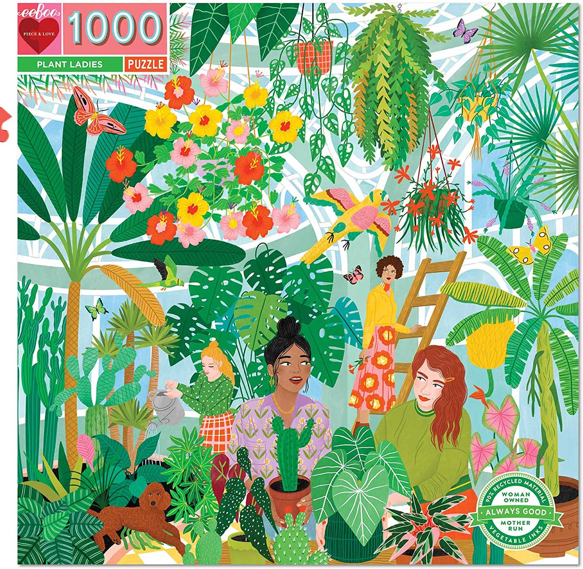 Plant Ladies Flowers Jigsaw Puzzle