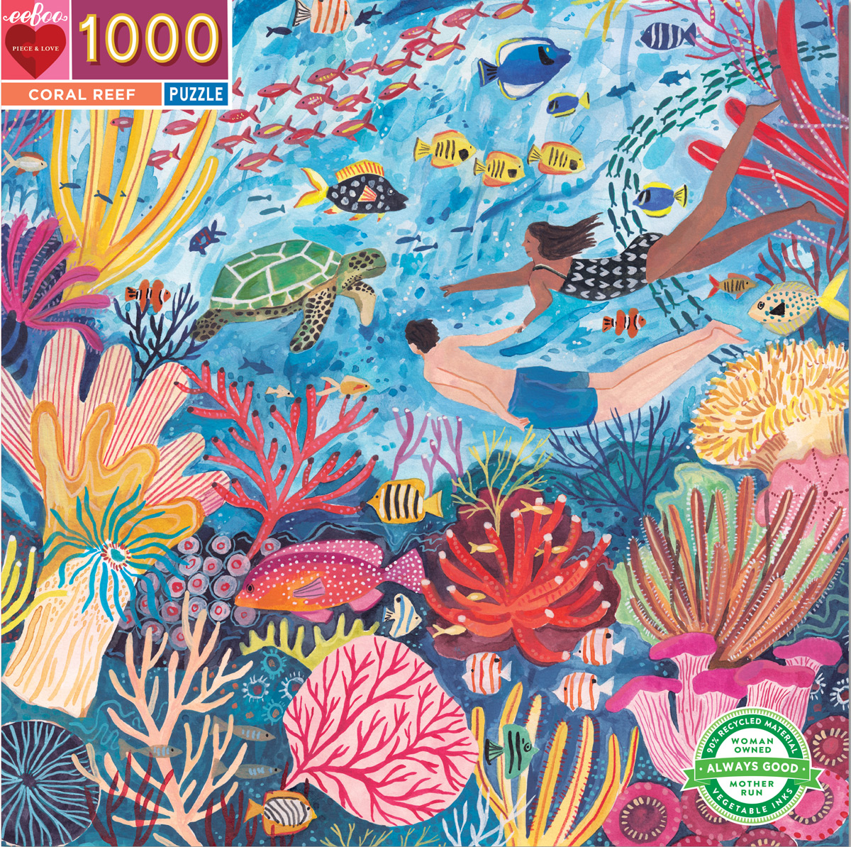 Coral Reef Under The Sea Jigsaw Puzzle