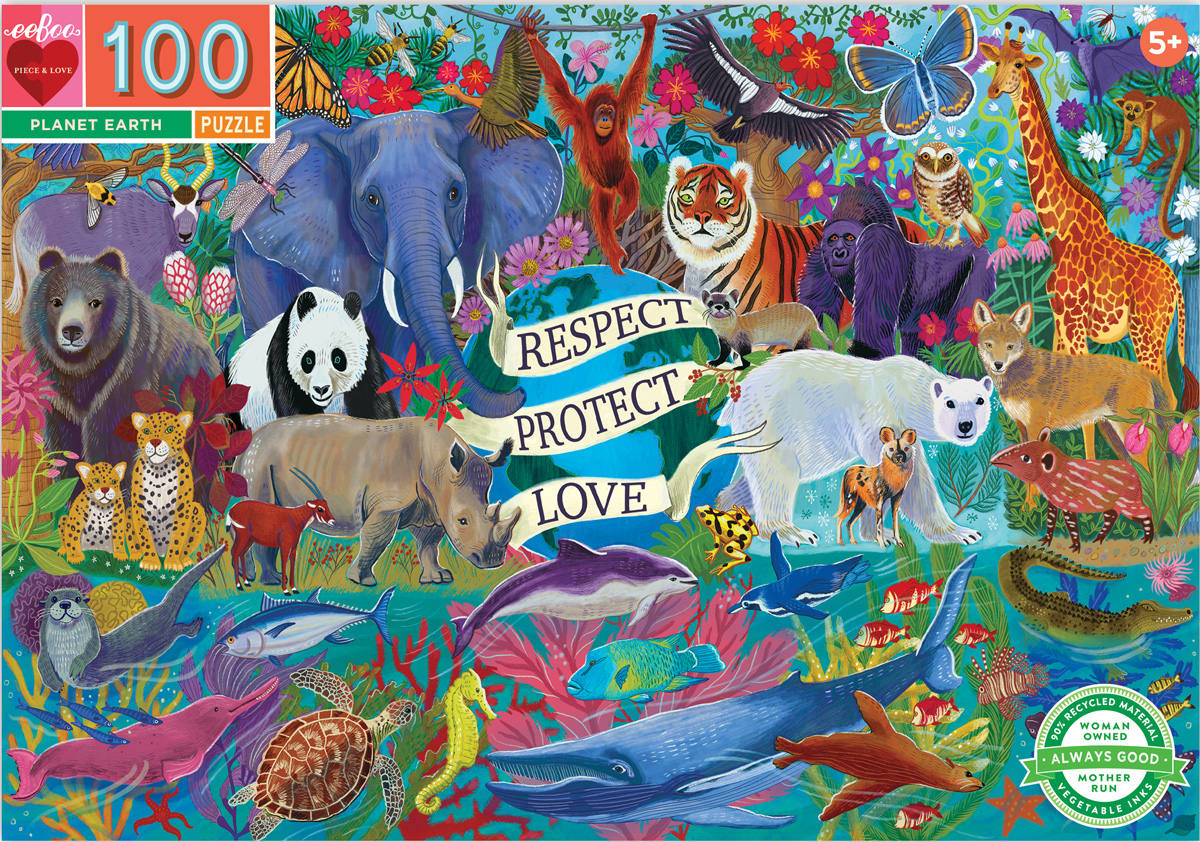 Planet Earth Animals Jigsaw Puzzle