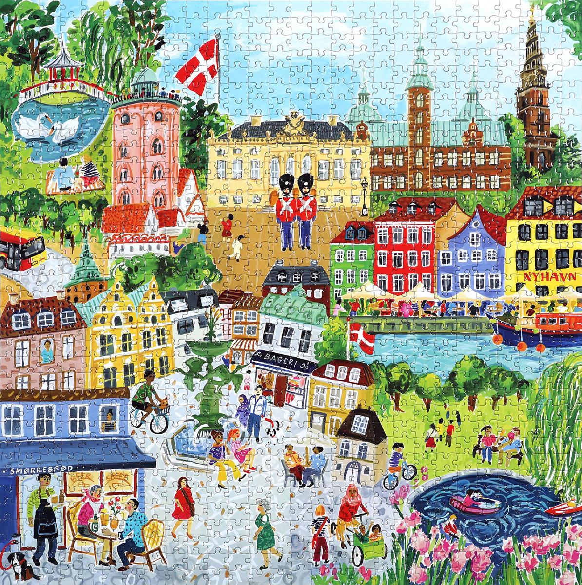 Copenhagen Jigsaw Puzzle