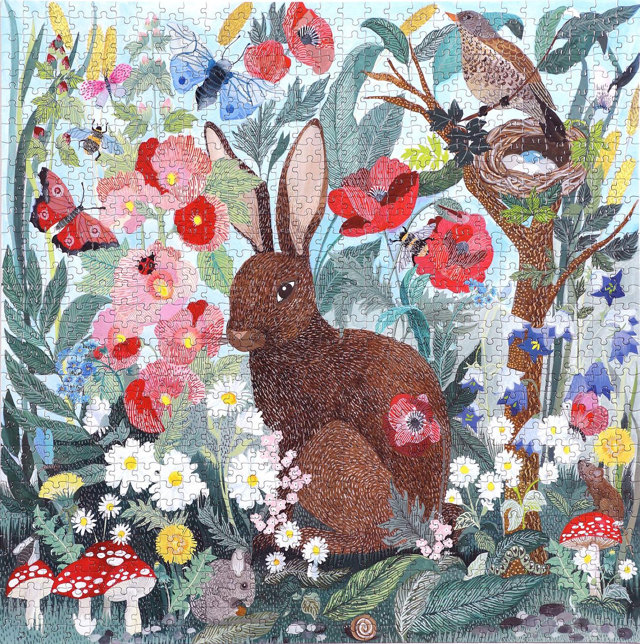 Poppy Bunny Animals Jigsaw Puzzle