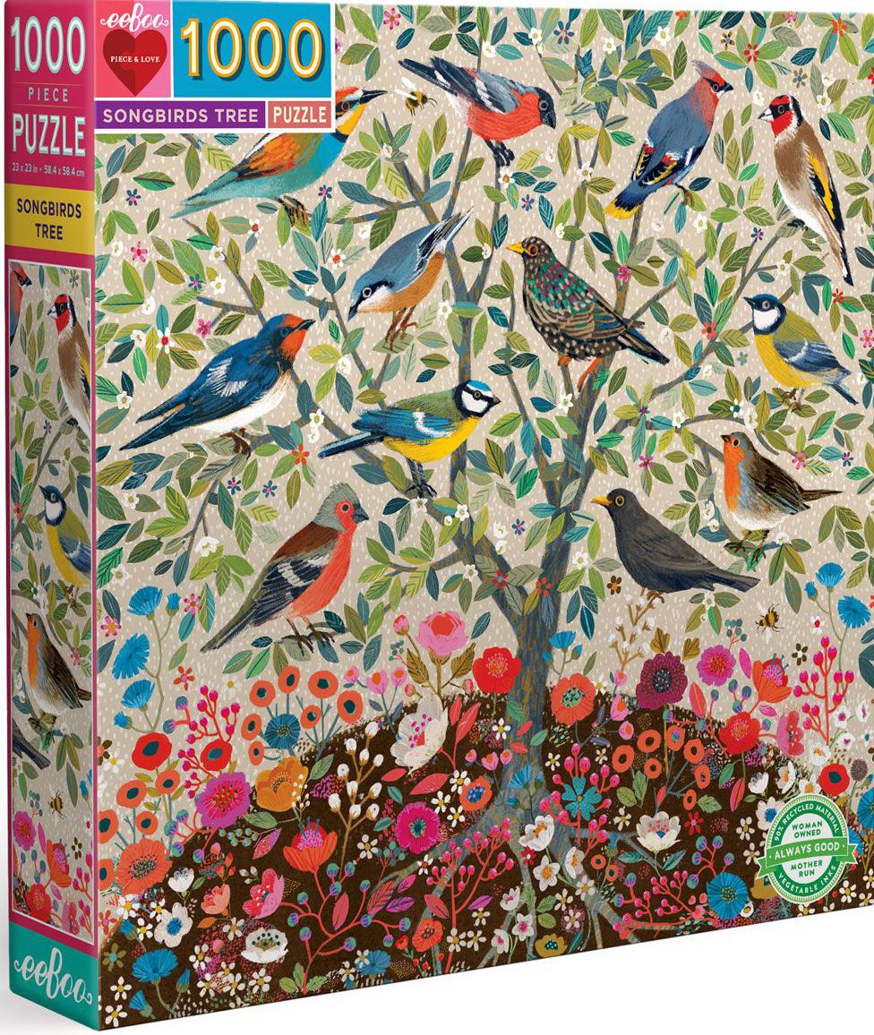 Songbirds Tree Birds Jigsaw Puzzle