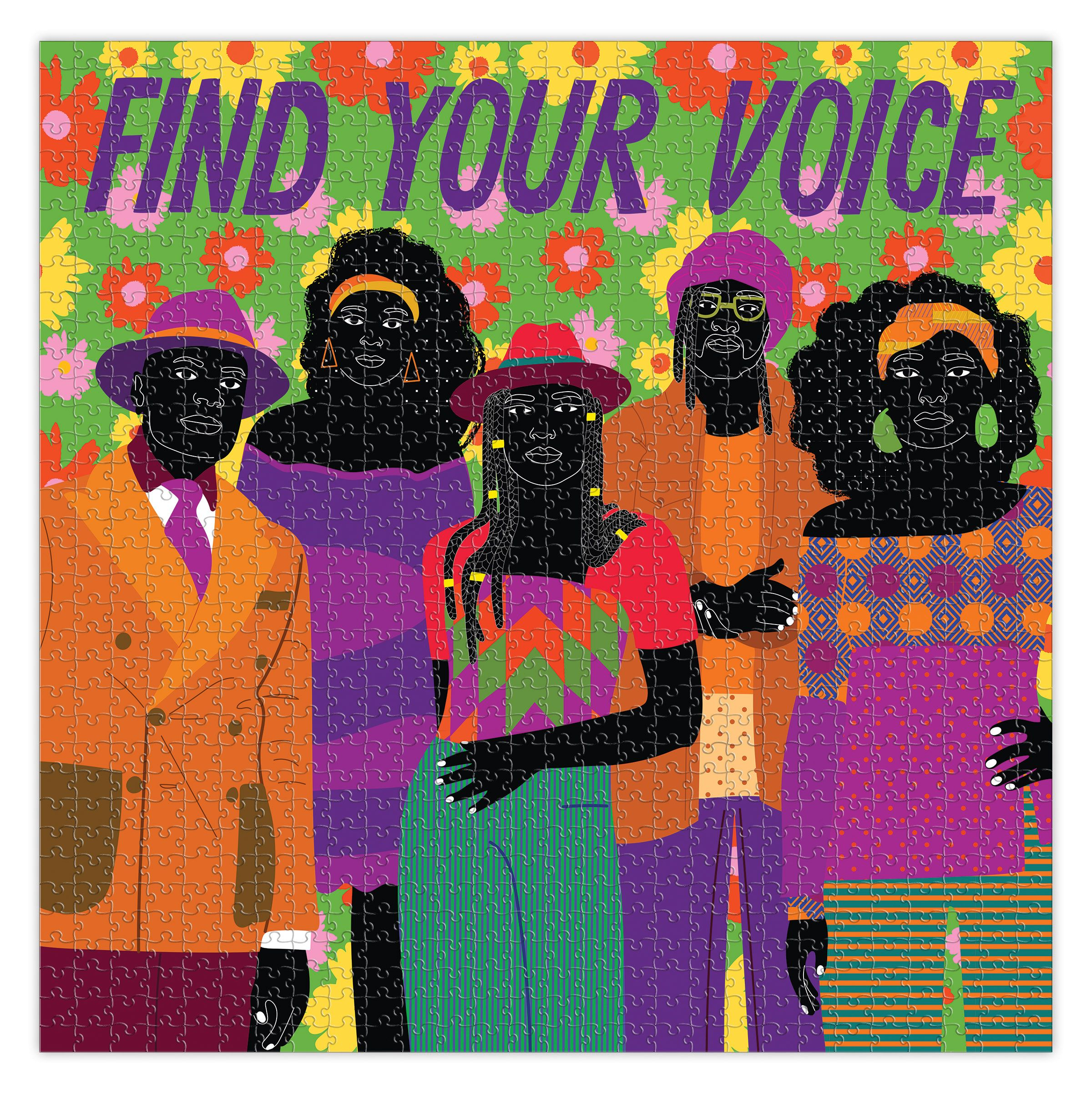 Find Your Voice People Jigsaw Puzzle