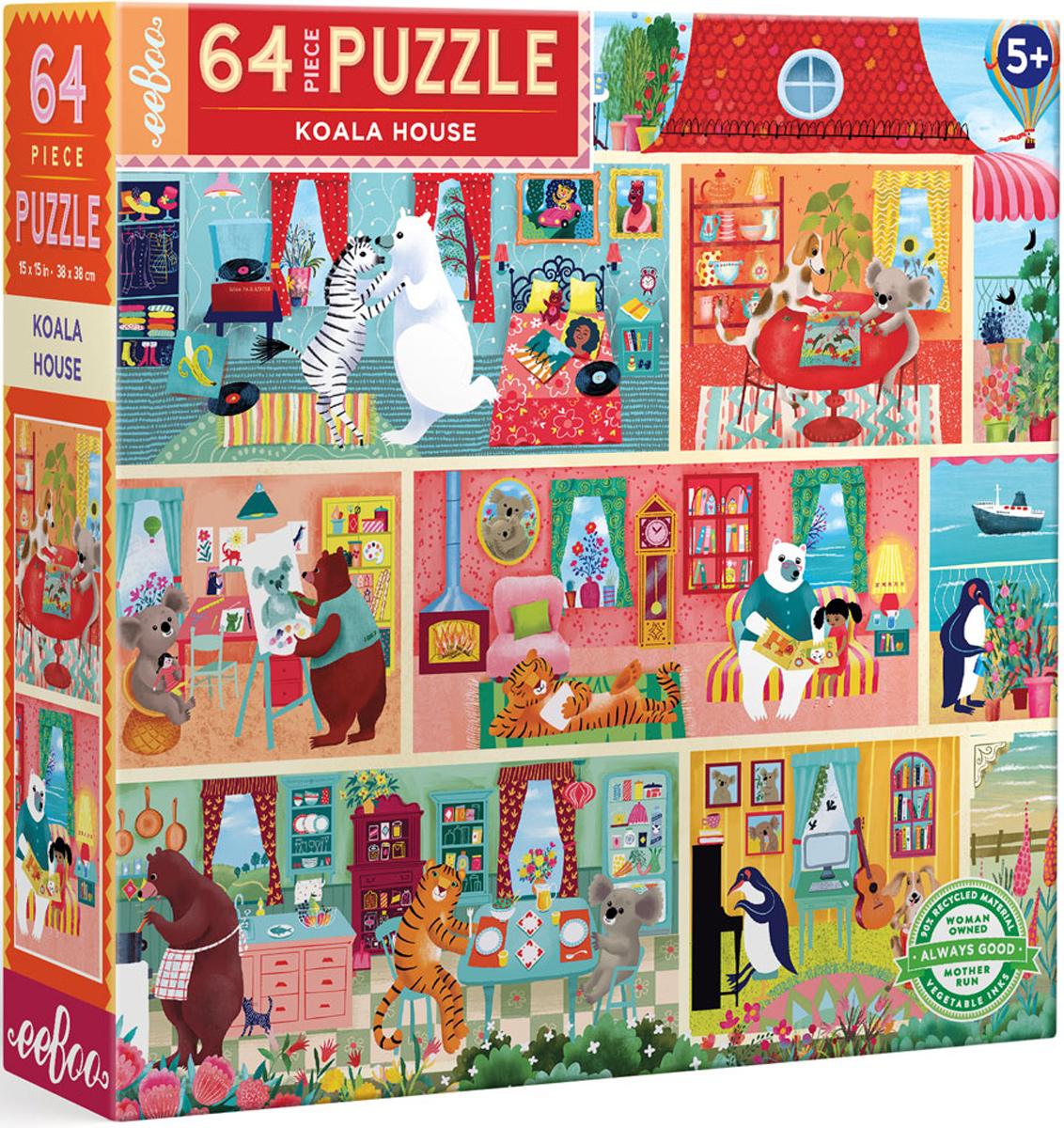 Koala House Party Animals Jigsaw Puzzle