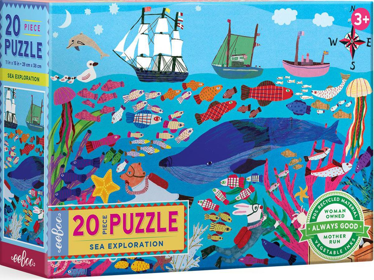 Sea Exploration Under The Sea Jigsaw Puzzle