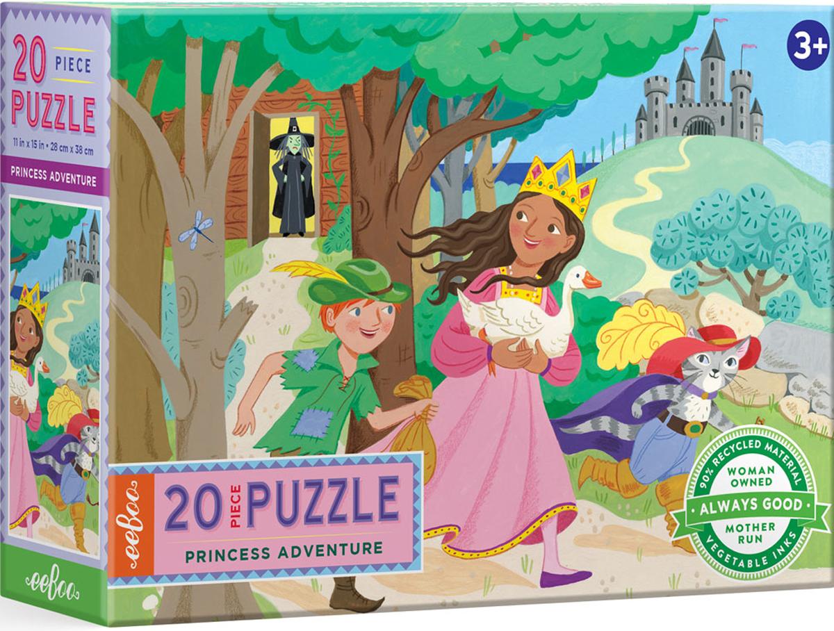Princess Adventure Castles Jigsaw Puzzle