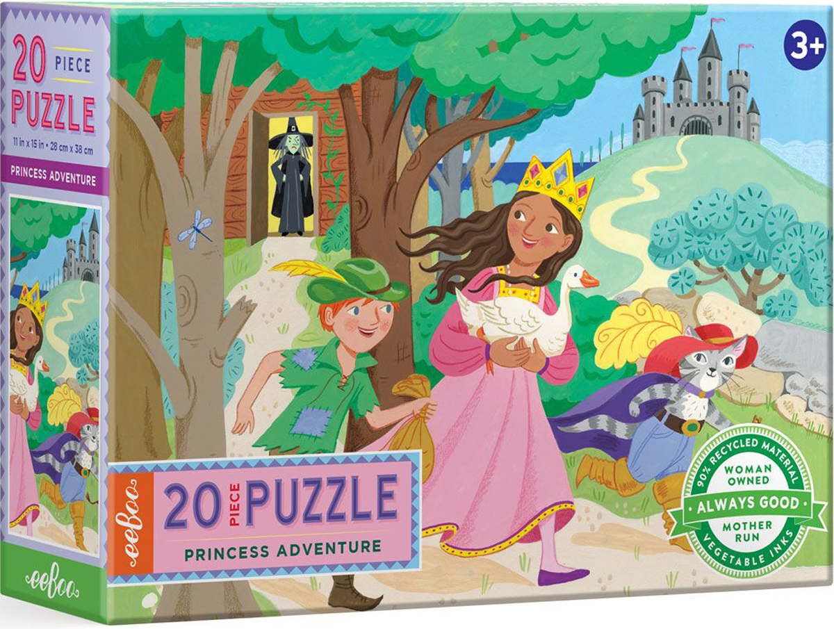 Princess Adventure Fantasy Jigsaw Puzzle