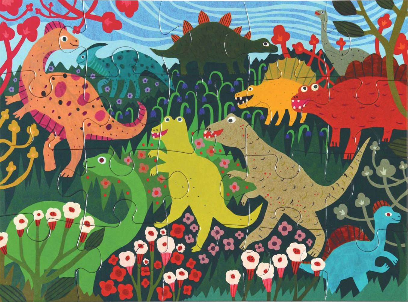 Dinosaur Friends Jigsaw Puzzle