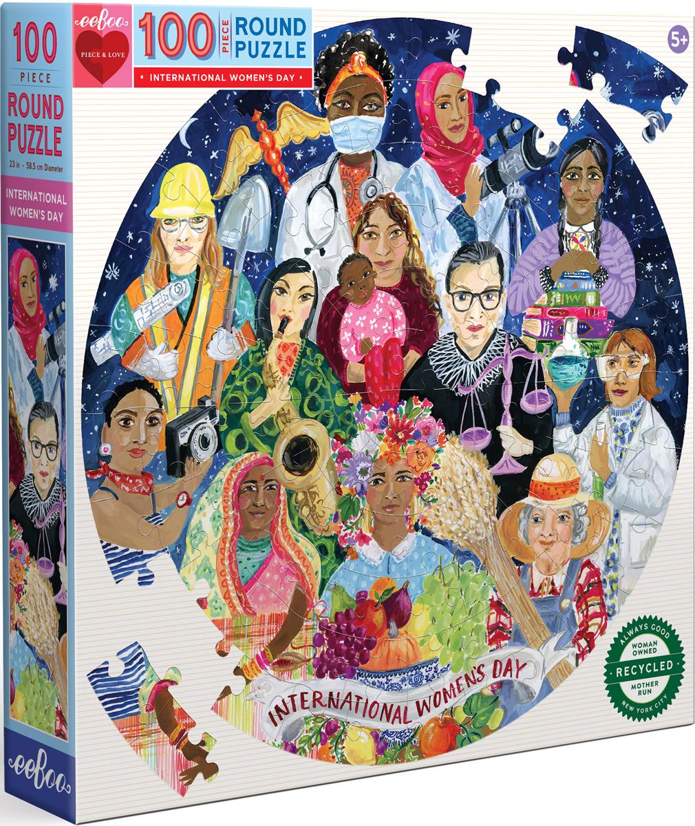 International Women's Day People Jigsaw Puzzle