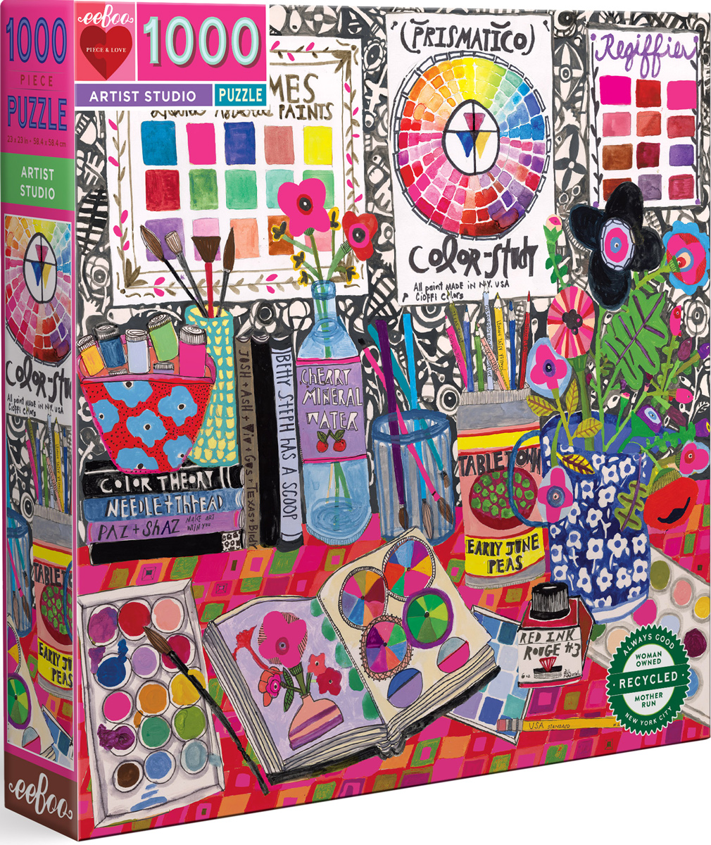 Artist Studio Crafts & Textile Arts Jigsaw Puzzle