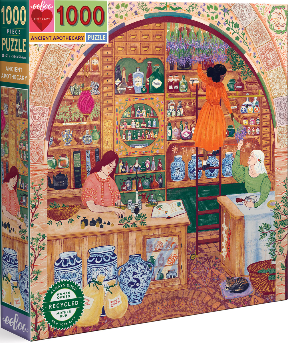 Ancient Apothecary Anatomy & Biology Jigsaw Puzzle