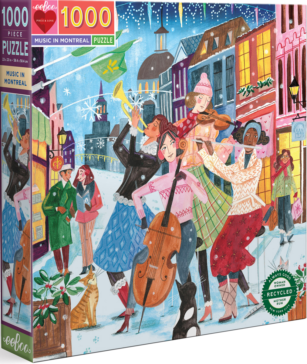 Music in Montreal Music Jigsaw Puzzle