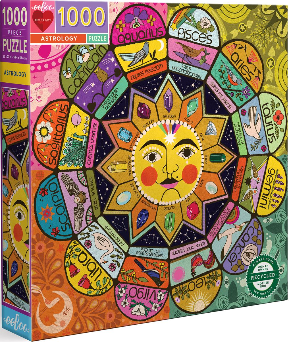 Astrology Zodiac Jigsaw Puzzle