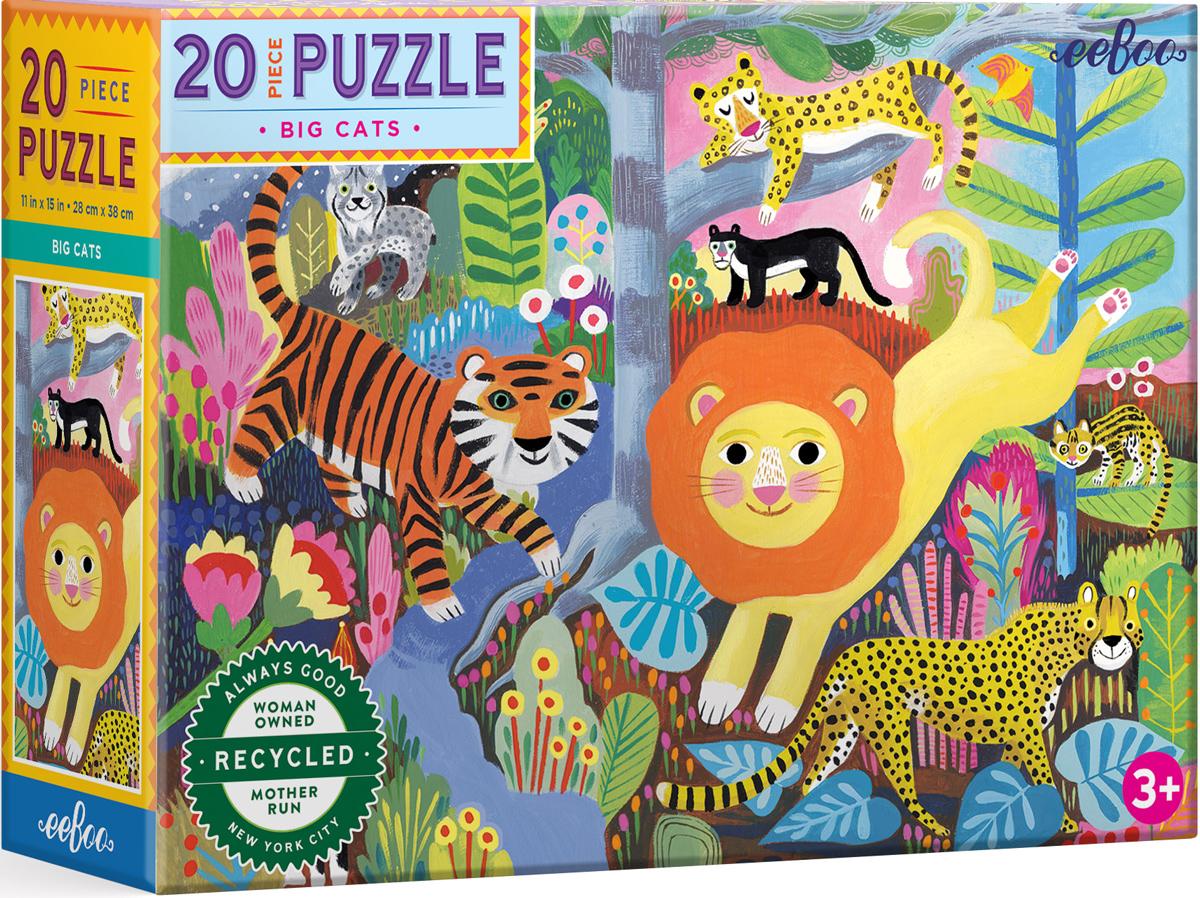 Big Cats Cats Jigsaw Puzzle