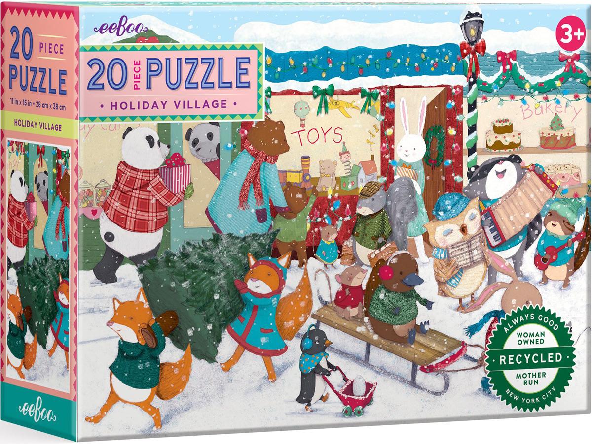 Holiday Village Christmas Jigsaw Puzzle