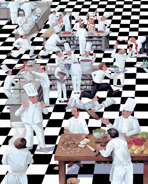 Kitchen Chaos Jigsaw Puzzle