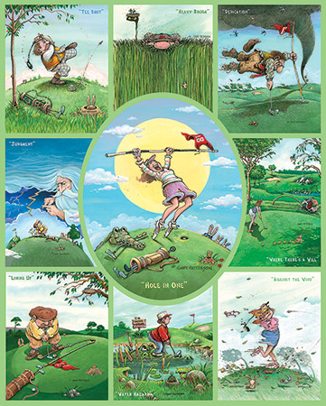 Golf Sports Jigsaw Puzzle
