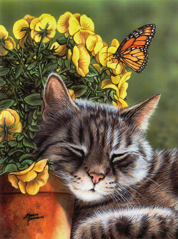Afternoon Nap Cats Jigsaw Puzzle