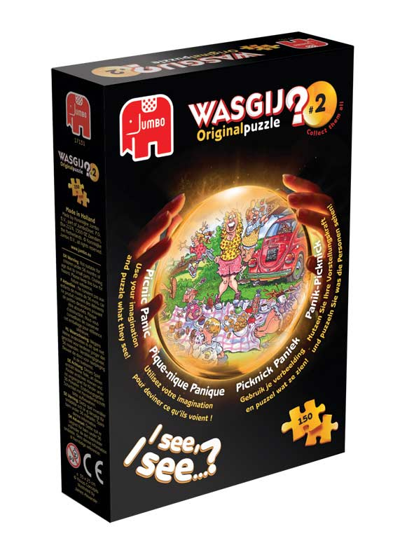 Wasgij Original #2 - Picnic Panic Wasgij Jigsaw Puzzle