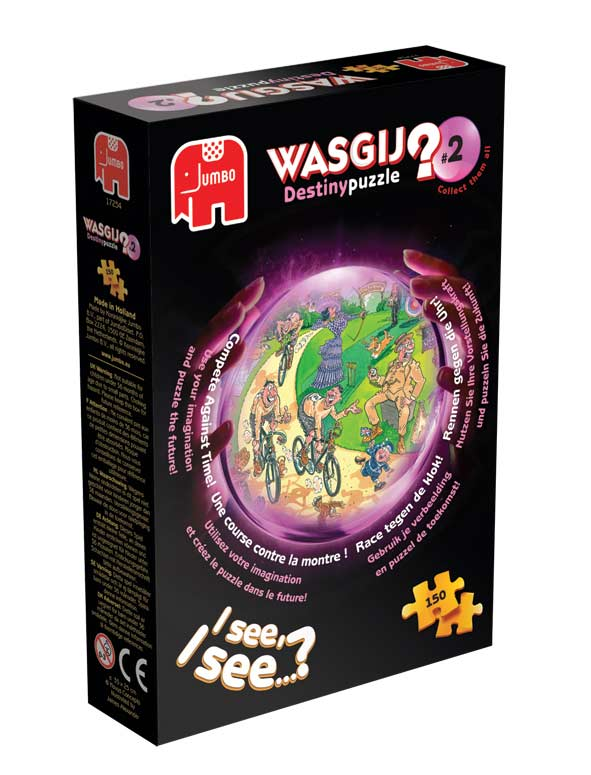 Wasgij Destiny #2 - Compete against Time Wasgij Jigsaw Puzzle