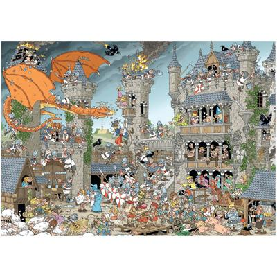 The Castle (Pieces of History) Castles Jigsaw Puzzle
