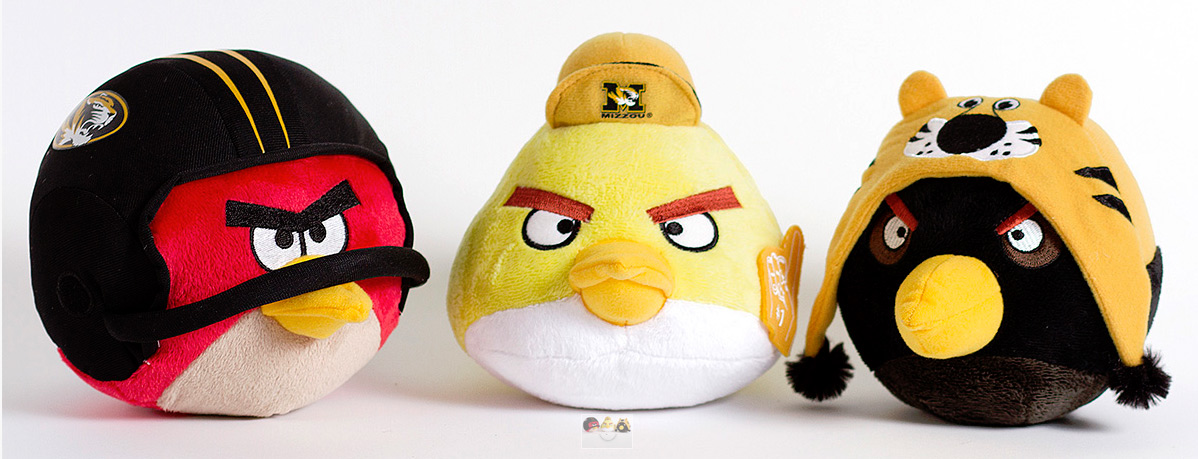 NCAA Angry Birds - Missouri Missouri Tigers