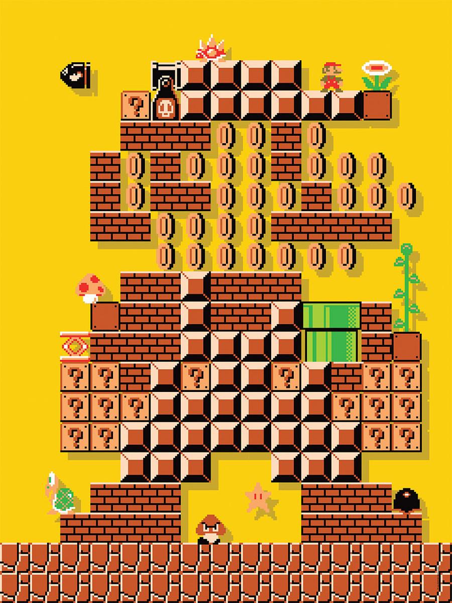 Mario Maker 1 Puzzle Jigsaw Puzzle Puzzlewarehouse Com