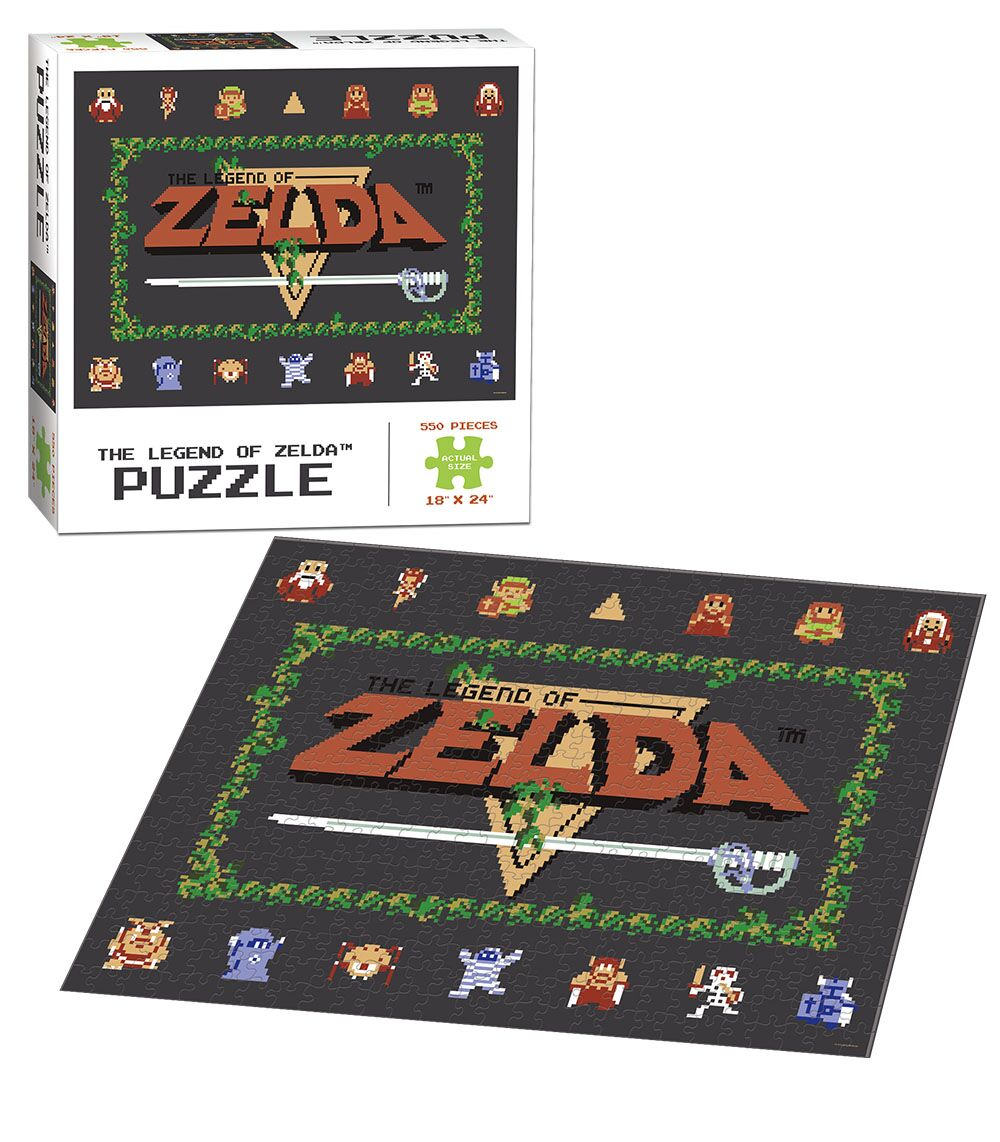 The Legend of Zelda™ Classic Video Game Jigsaw Puzzle