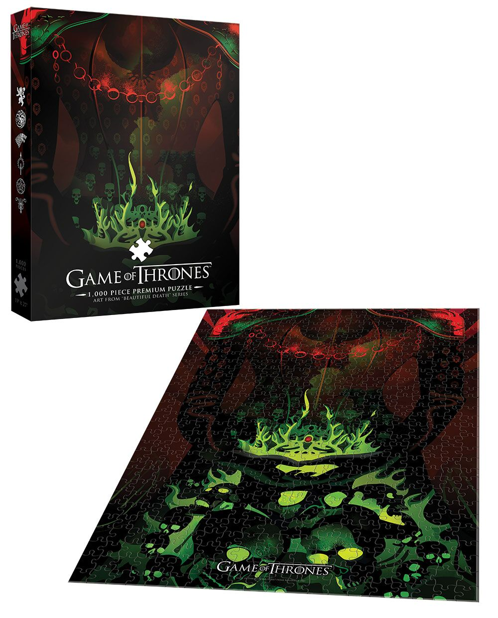 Game of Thrones™ Long May She Reign Movies / Books / TV Jigsaw Puzzle