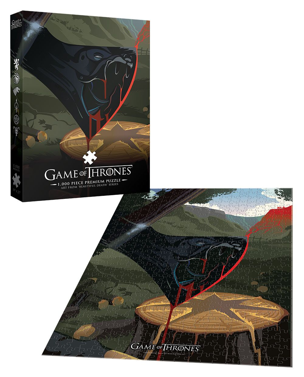 Game of Thrones™ Violence is a Disease Movies / Books / TV Jigsaw Puzzle
