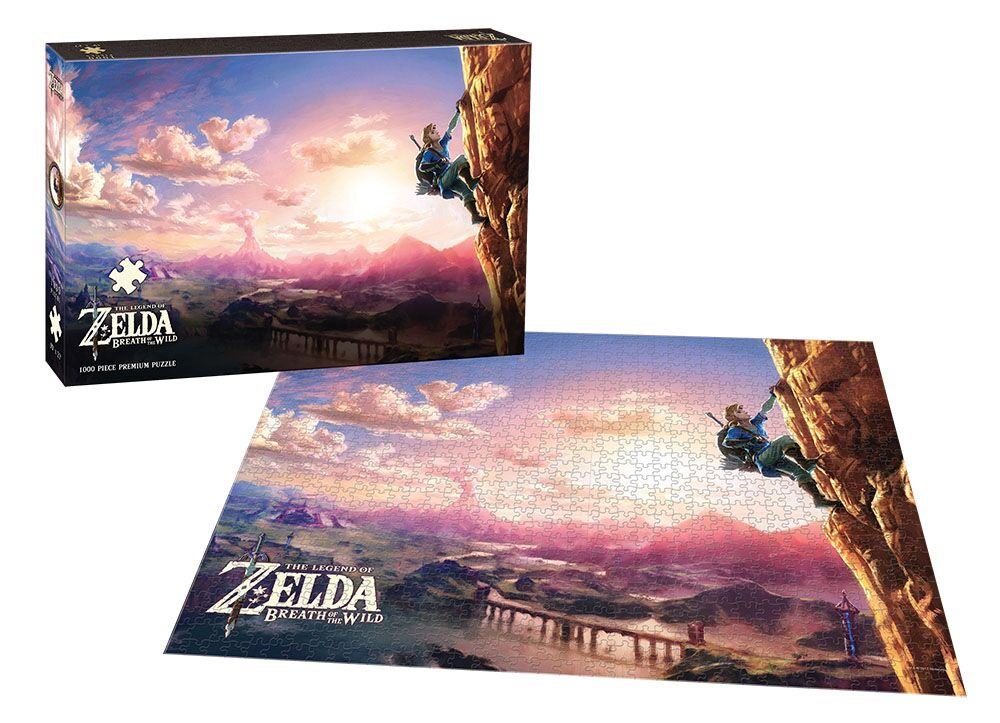 The Legend of Zelda™ Breath of the Wild Scaling Hyrule Video Game Jigsaw Puzzle