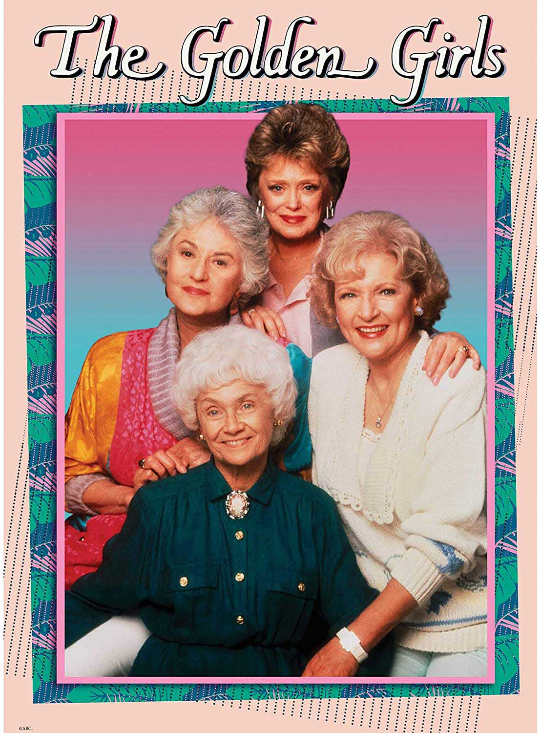 The Golden Girls Famous People Jigsaw Puzzle
